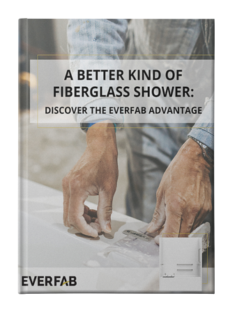 A Better Kind of Fiberglass Tub Shower - no shadow