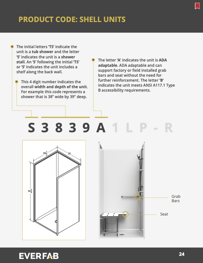 product code page 1